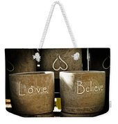 Believe In Love - Photography By William Patrick And Sharon Cummings Weekender Tote Bag