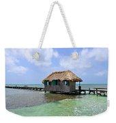 Belize Pier And Seascape Weekender Tote Bag