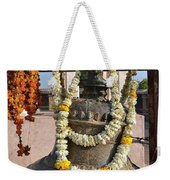 Bell At The Temple Of The 64 Yoginis - Jabalpur India Weekender Tote Bag