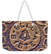 Bell Medallion Weekender Tote Bag