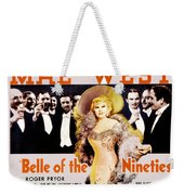 Bell Of The Nineties Weekender Tote Bag