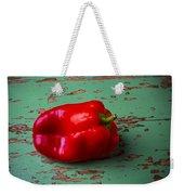 Bell Pepper On Green Board Weekender Tote Bag