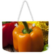 Bell Peppers And Poms Weekender Tote Bag