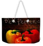 Bell Peppers II Weekender Tote Bag