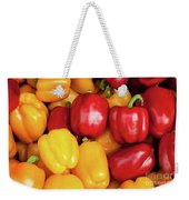 Bell Peppers Weekender Tote Bag