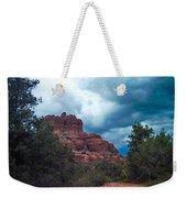 Bell Rock Drama Sky Weekender Tote Bag