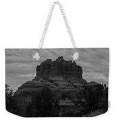Bell Rock In Black White Weekender Tote Bag