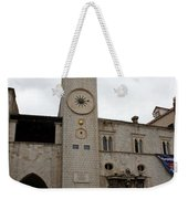 Bell Tower At Luza Square Weekender Tote Bag