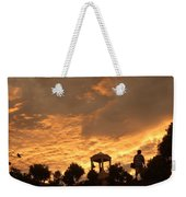 Bell Tower At Sunset Weekender Tote Bag