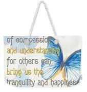 Bella Butterflies 1 Weekender Tote Bag