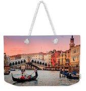 La Bella Canal Grande Weekender Tote Bag