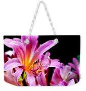 Belladonna Lilies Weekender Tote Bag