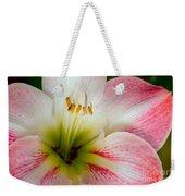 Belladonna Lily Detail Weekender Tote Bag