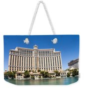 Bellagio Resort And Casino Panoramic Weekender Tote Bag