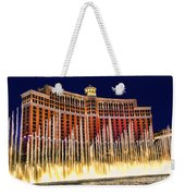 Bellagio Water Show Weekender Tote Bag