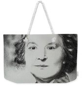 Belle Grand-mere Piche Weekender Tote Bag