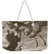 Bellerophon Fights The Chimaera, 1731 Weekender Tote Bag