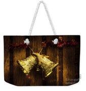 Bells Of Christmas Joy Weekender Tote Bag