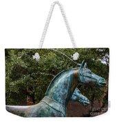 Belmond Charleston Place Horse Fountain Weekender Tote Bag
