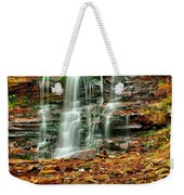 Below Ganoga Falls Weekender Tote Bag