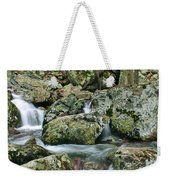 Below Mina Sauk Falls 1 Weekender Tote Bag