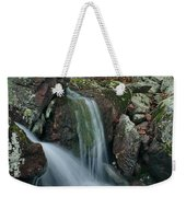 Below Mina Sauk Falls 4 On Taum Sauk Mountain Weekender Tote Bag