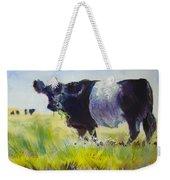 Belted Galloway Cow Weekender Tote Bag