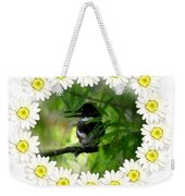 Belted Kingfisher In The Midst Weekender Tote Bag