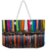 Belts Galore Weekender Tote Bag