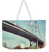 Ben Franklin Bridge Weekender Tote Bag