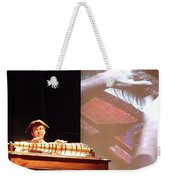 Ben Franklin Glass Harmonica Weekender Tote Bag