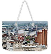 Ben Franklin View Weekender Tote Bag