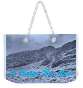 Ben Nevis Happy New Year Greeting Weekender Tote Bag