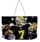 Ben Roethlisberger  - Pittsburg Steelers Weekender Tote Bag