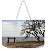 Bench And Beach Weekender Tote Bag