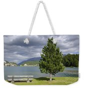 Bench And Tree Weekender Tote Bag