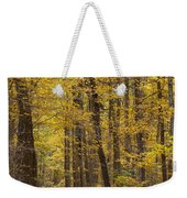 Bench In Fall Color Weekender Tote Bag
