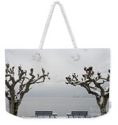 Benches And A Trees Weekender Tote Bag