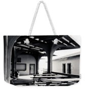 Benches At The Beach Weekender Tote Bag