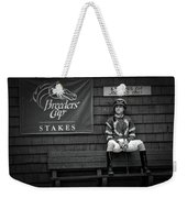 Benches For Jockeys Only Weekender Tote Bag