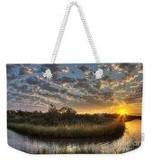 Bend In The Bayou Sunrise Weekender Tote Bag