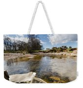 Bend In The Breamish River Weekender Tote Bag