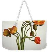 Bendy Poppies Weekender Tote Bag