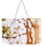 Beneath A Tree 14 5286 Triptych Set 1 Of 3 Weekender Tote Bag by Ulrich Schade