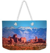Beneath Blue Skies Weekender Tote Bag