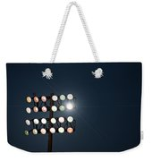 Beneath Friday Night Lights Weekender Tote Bag by Trish Mistric