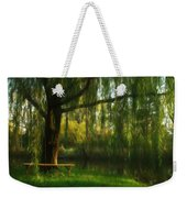 Beneath The Willow Weekender Tote Bag