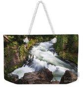 Benham Falls - Oregon Weekender Tote Bag