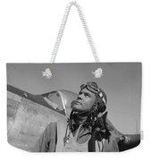 Benjamin Davis - Ww2 Tuskegee Airmen Weekender Tote Bag