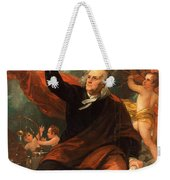 Benjamin Franklin Drawing Electricity From The Sky Weekender Tote Bag